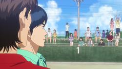 S2E25 Nabae looking at Eiichiro