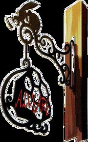 The Alveare sign