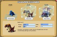 One Champion not enough for you Put your Champion Monster on ice and raise a new one. Collect and evolve all three. Collect and evolve all three!