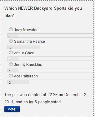 December Poll