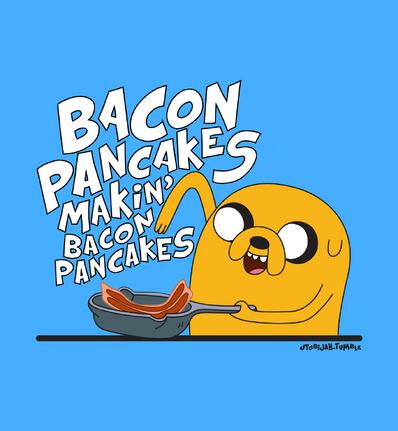 I love bacon pancakes