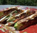 Bacon, Blue and Avocado Quesadilla