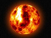 Molten earth young on fire early space hd-wallpaper-Pejj