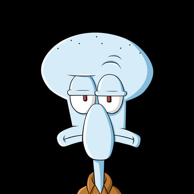 Squidward by 2D75