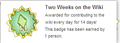 Two Weeks on the Wiki (earned hover).png