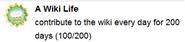 A Wiki Life (sidebar)
