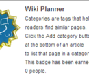 Planeador da Wiki