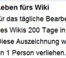 Leben fürs Wiki