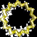 Gold Badge top
