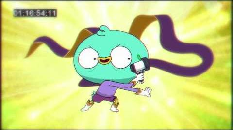 Harvey Beaks Anime Harvey Transformation Music