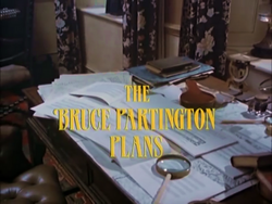 SHG title card The Bruce Partington Plans