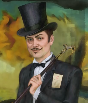 Lupin painting