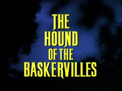 SHG title card The Hound of the Baskervilles