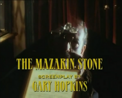 SHG title card The Mazarin Stone