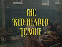 The red-headed league (granada) episode title card