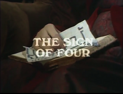 BBC 68 the sign of four title card