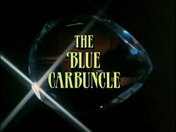 SHG title card The Blue Carbuncle