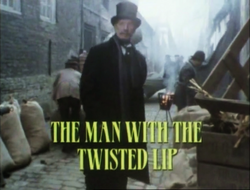 SHG title card The Man With the Twisted Lip