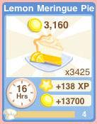 Bakery Oven LemonMeringuePie