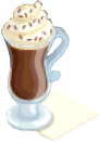 Drink Mixer-Hot Chocolate plate