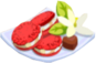 Oven-Red Velvet Cookie plate