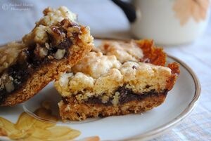 Chocolate and caramel oatmeal bars by visualpoems-d5fgd7p