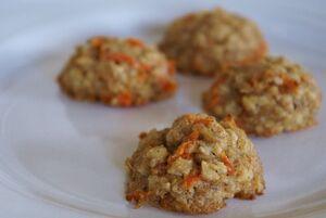 Oatmeal-carrot-cookies