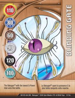 Blinding Gate Card