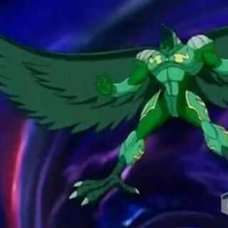 Ravenoid in Bakuganform