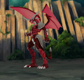 Evil Bakugan Helix Drago
