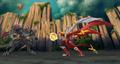 Titanium Dragonoid on Bakugan Dimensions