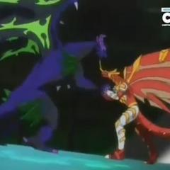 Blitz Dragonoid Vs. Dharak