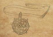 Hexxat's Amulet item artwork BG2