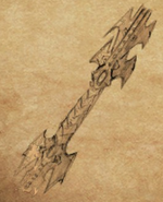 Drow Lance item artwork BG2