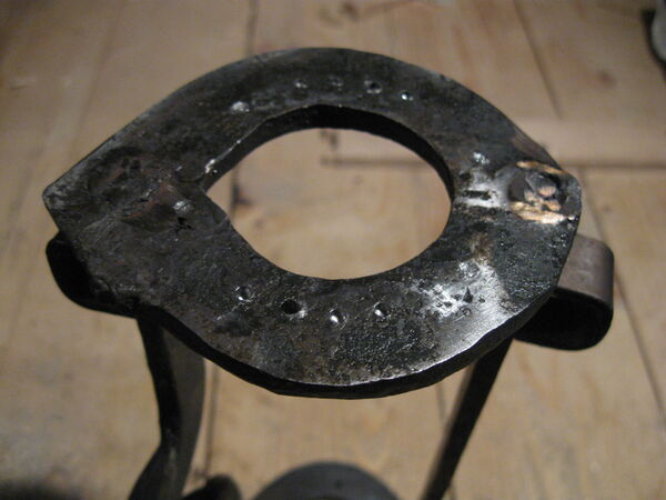 Drilling field-frame ring holes - 04