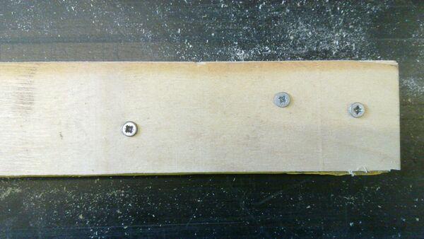 Making a wedge-sawing helper - 09
