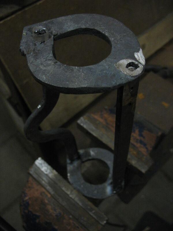 Welding field-frames together - 04