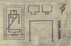 Triggering mechanism - Codex P fol. 69 recto - Schneider 1906
