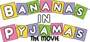 Logo bananas in pyjamas the movie