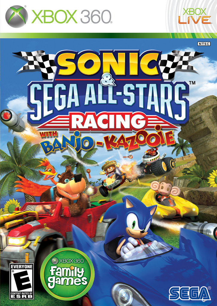 Sonic & Sega All-Stars Racing with Banjo-Kazooie | Banjo-Kazooie Wiki | FANDOM powered by Wikia