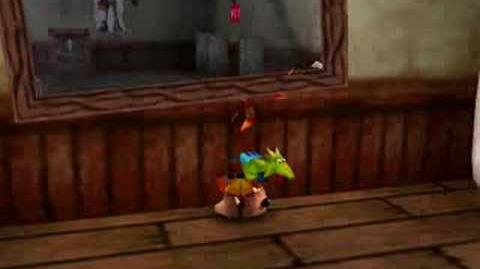 Banjo-Tooie Mirror glitch experimenting