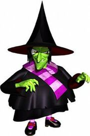 Gruntilda the witch