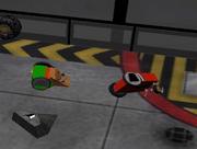 Gaming kick glitch