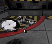 Sanity delta loses a wheel.