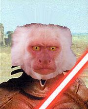 Darth monkey