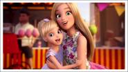 Chelsea and barbie selfie