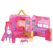 Mattel-barbie-princess-charm-school-royal-bed-bath-play-set