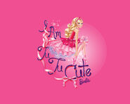 Barbie in The Pink Shoes Wallpaper 4