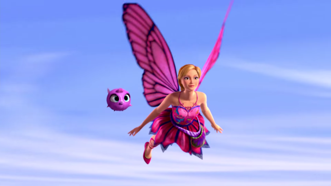 Image - Barbie Mariposa & the Fairy Princess Teaser Screenshots 2.png ...