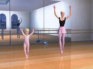 Barbie in the Nutcracker Barbie Kelly Ballet Studio 7